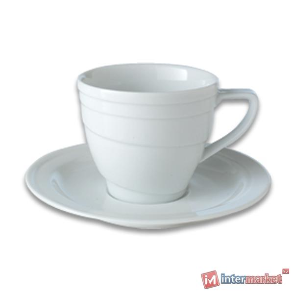 Чашка с блюдцем BergHOFF Hotel 0,125 л 1690216
