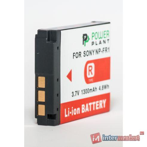 Аккумулятор PowerPlant Sony NP-FR1 1300mAh
