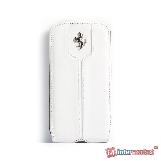 Чехол для телефона Ferrari Montecarlo Flapcase FEMTFLS4WH