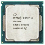 Процессоры CPU Intel Core i3 7100 3,9 GHz 3Mb 2/4 Core Kaby Lake Tray LGA1151