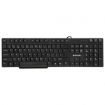 Клавиатура проводная Defender ACCENT SB-930 RU, черный